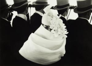 Fashion Day Givenchy-Hat-at-Longchamps-Paris-1958