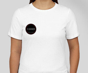 Womans white t-shirt